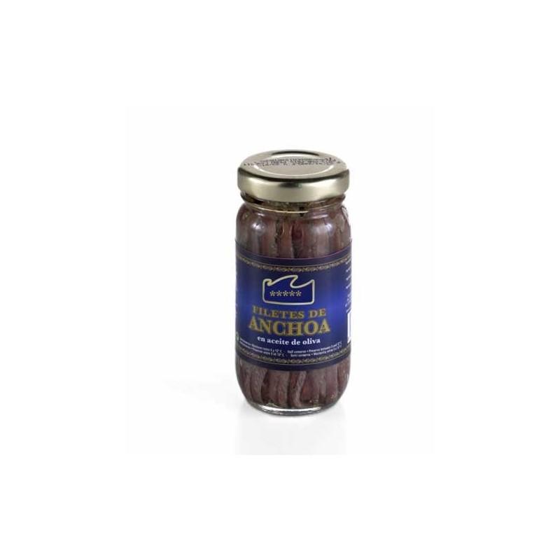 Filetes de anchoa en aceite de oliva extra