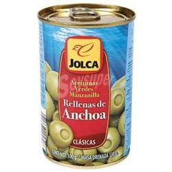 Aceitunas rellenas de anchoa