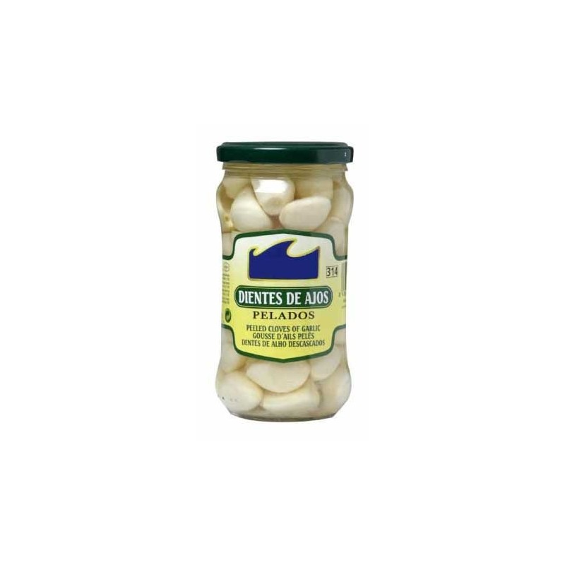 Dientes de Ajos Pelados Tarro de 314 ml