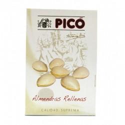 Almond stuffed with turron