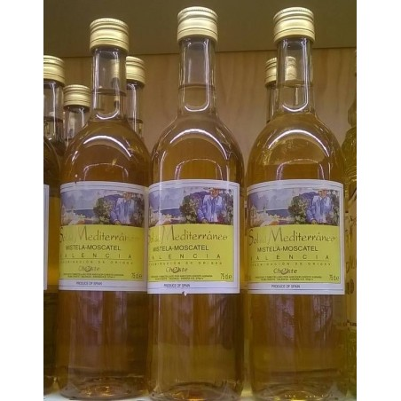 Moscatel wine liqueur From Valencia Spain