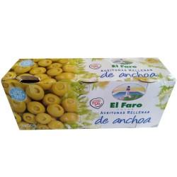 Olives farcies aux Anchois