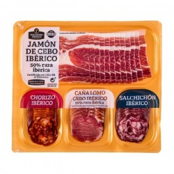 Assorted Spanish Iberian Ham et Sausage