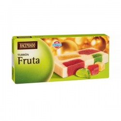 Turron aux fruits confits