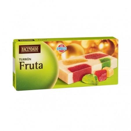 Turron aux fruits confits