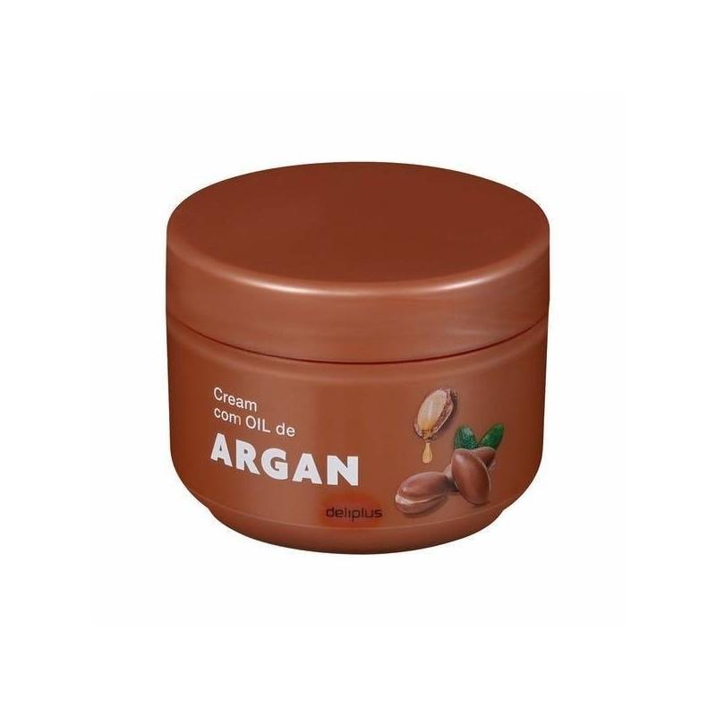 Body cream with argan oil